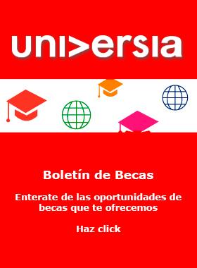 Boletín de Becas Universia