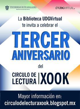 La Biblioteca UDGVirtual invita a esta actividad de aniversario de XOOK