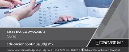 Cartel informativo sobre el Curso: Excel básico-avanzado, Inicio: 5 de febrero, Modalidad: En línea