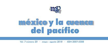 Cartel informativo para consultar la Revista: México y la Cuenca del Pacífico. Mayo-Agosto 2018, volumen 7, número 20. ¡Consulta la edición!