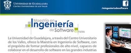 Cartel de Maestría en Ingeniería de Software (Quinta Generación)-CONACYT, calendario 2018B