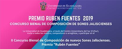 Cartel informativo sobre el II Concurso Bienal de Composición de nuevos Sones Jaliscienses