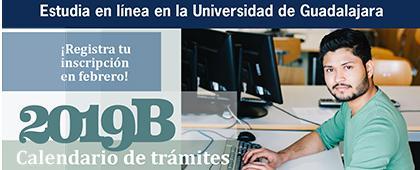 Cartel informativo sobre la Promoción de la oferta académica UDGVirtual