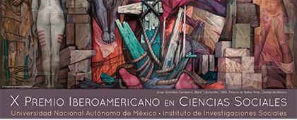Cartel informativo sobre el X Premio Iberoamericano en Ciencias Sociales