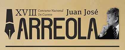 Cartel informativo sobre el XVIII Concurso Nacional de Cuento Juan José Arreola