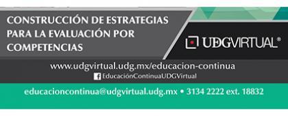 Cartel informativo sobre el Curso: Construcción de estrategias para la evaluación por competencias