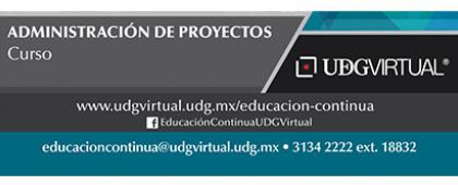 Cartel informativo sobre el Curso: Administración de proyectos