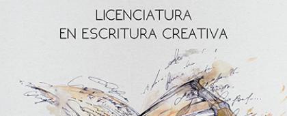 Cartel de Licenciatura en Escritura Creativa