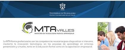 Cartel informativo sobre la Maestría en Tecnologías para el Aprendizaje