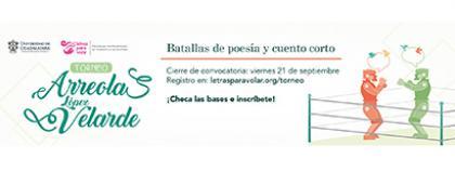 Cartel informativo sobre el Torneo Arreola/Velarde