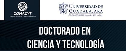 Cartel informativo sobre el Doctorado en Ciencia y Tecnología