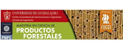 Cartel informativo sobre la Maestría en Ciencia de Productos Forestales