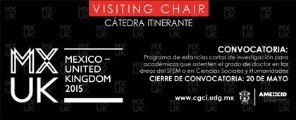 UK - Mexico Visiting Chair: Mobility Grants