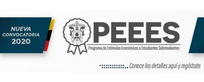 Programa de Estímulos Económicos a Estudiantes Sobresalientes, convocatoria 2020.