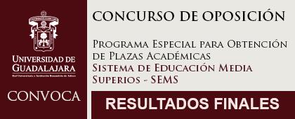 Imagen informativa Convocatoria del Concurso de Oposición Abierto plazas académicas, SEMS