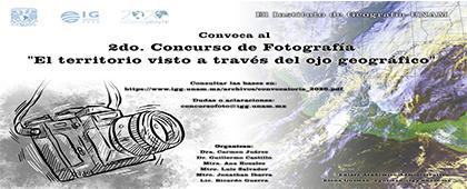 """Segundo Concurso de Fotografía """"El territorio visto a través del ojo geográfico"""""""
