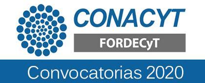 Convocatorias PRONACES/FORDECYT
