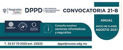 Doctorado en Políticas Públicas y Desarrollo, convocatoria 21-B