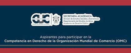 Competencia en Derecho de la Organización Mundial de Comercio (OMC)