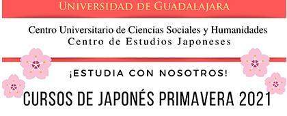 Cursos de japonés, primavera 2021