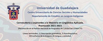 Maestría en Lingüística Aplicada 21-23