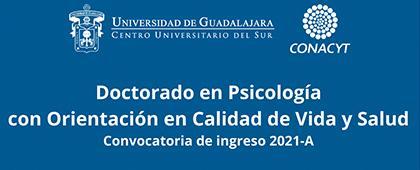 Doctorado en Psicología con orientación en calidad de vida y salud. Sesión informativa virtual
