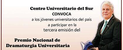 Tercera emisión del Premio Nacional de Dramaturgia Universitaria Hugo Salcedo 2020