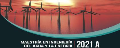 Cartel informativo - Maestría en Ingeniería del Agua y la Energía, 2021-A