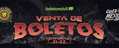 Venta de boletos de Leones Negros, temporada 21-22