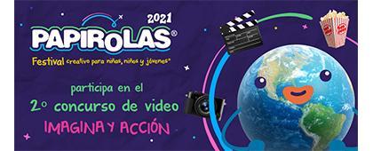 """Segundo concurso de video """"Imagina y acción"""""""