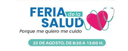 """Feria de la Salud """"Porque me quiero me cuido"""""""