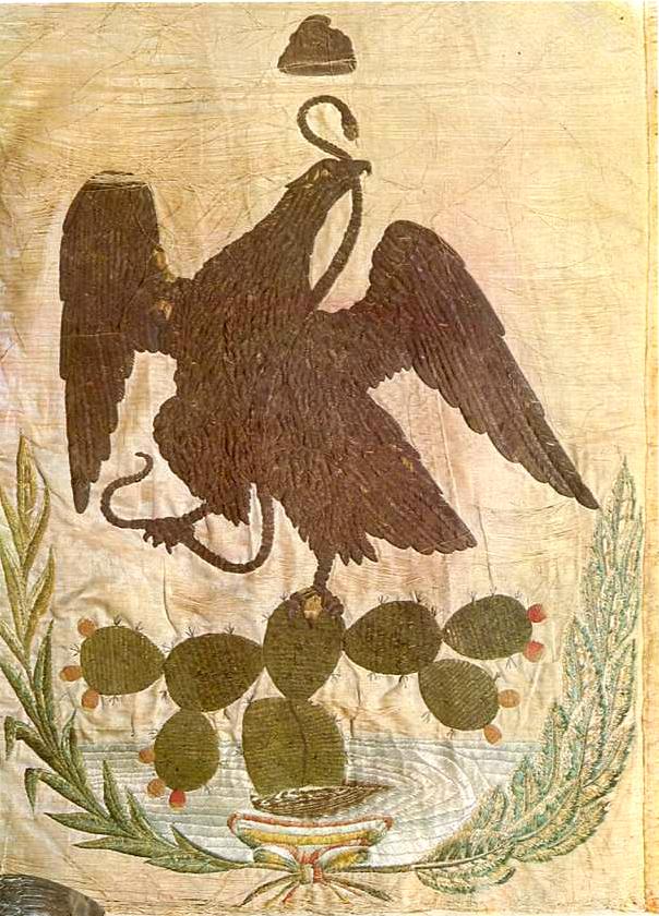 3- Insignia de uno de los batallones que pelearon en la Batalla del 05 de Mayo