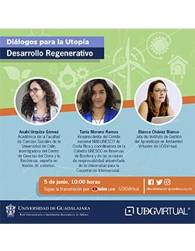 """Seminario en línea: """"Diálogos para la utopía: Desarrollo regenerativo"""""""