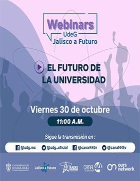 Webinar: El futuro de la universidad
