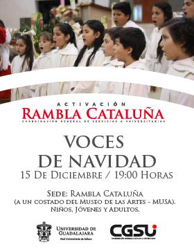 Coro de niños del evento: Concierto Voces de Navidad en la Rambla Cataluña
