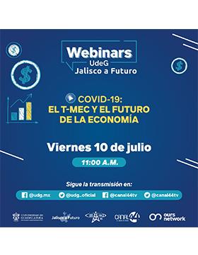 Webinar: El T-MEC y el futuro de la economía